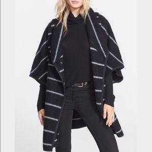 Free people wool blanket coat